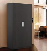 Kosmo Solo Two Door Wardrobe in Natural Wenge Finish