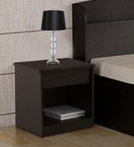Kosmo Weave Bedside Table in Vermount Finish