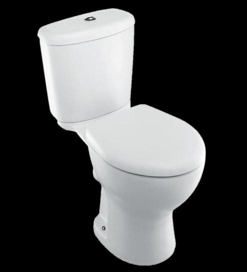 Kohler Brive Plus White Ceramic Water Closet With Seat Cover