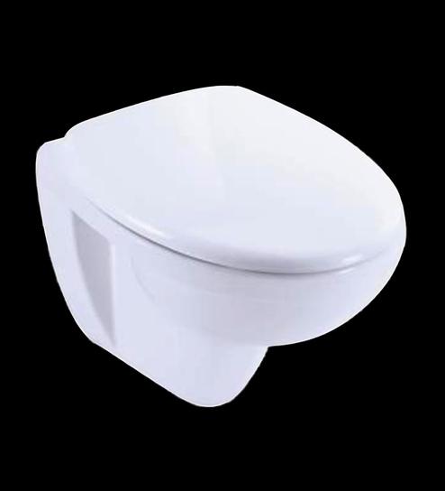 Kohler White Ceramic Patio Wall Hung Toilet