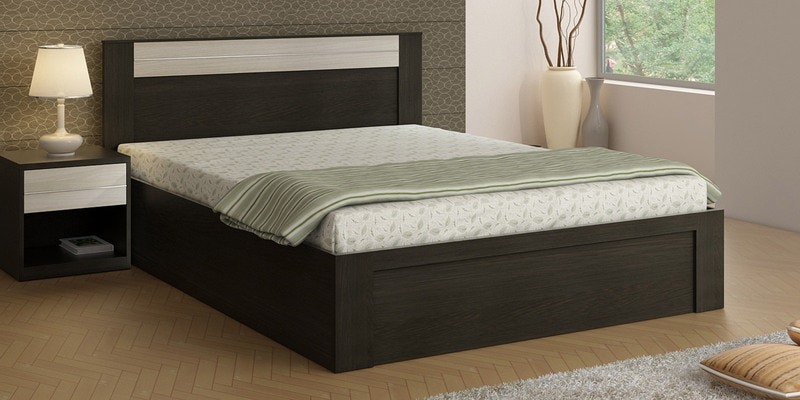 Buy Kosmo Delta Queen Size Bed With Box Storage By