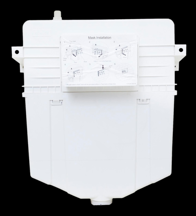 Kohler Hydro Tower White Abs Inwall Tank