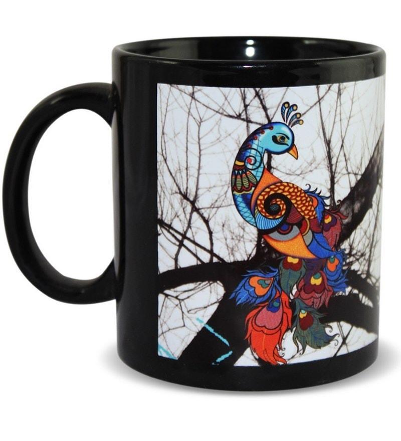 Kolorobia Stoneware 325 ML Mugs  - Set of 2