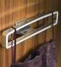 Kohler Silver Stainless Steel Loure Robe Hook
