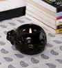 Kokoon Brown Ceramic Tea Light Holder