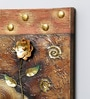 Canvas 15.5 x 1.5 x 23.5 Inch Oil & Metal Work Wall Painting by Kokoon