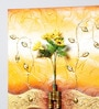 Kokoon Canvas 23 x 1.5 x 31 Inch Oil & Metal Work Wall Painting
