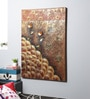 Canvas 31 x 1.5 x 47 Inch Oil & Metal Work Wall Painting by Kokoon