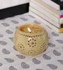 Kokoon Cream Ceramic Tea Light Holder