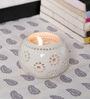 Kokoon White Ceramic Tea Light Holder