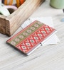 Kolorobia on the Go Metal Enchanting Ikat Visiting Card Holder