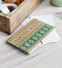 Multicolour on the Go Metal Entrancing Ikat Visiting Card Holder by Kolorobia