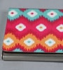 Kolorobia on the Go Metal Colourful Striking Ikat Visiting Card Holder