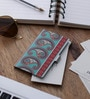 Kolorobia Paisley Steel Multicolour Visiting Card Holder