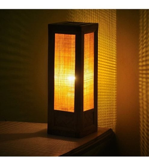 Buy kraftinn estelle wooden brown bamboo table lamp online kraftinn estelle wooden brown bamboo table lamp aloadofball Images