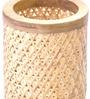Tattva Beige Bamboo Floor Lamp by Kraftinn