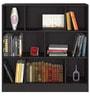 Kreg Bookshelf in Wenge Colour by Forzza