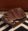Krio Designs Mesh Beige & Dark Brown Multiple Shoe Storage Bag