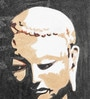 Canvas & Acrylic 9 x 1.5 x 11 Inch Vp Buddha Original Framed Painting by Krish Art