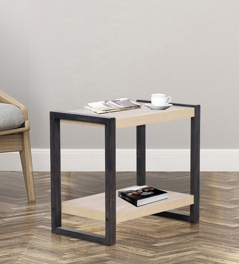 Incredible Kuro End Table In Sonoma Oak Finish By Mintwud Dailytribune Chair Design For Home Dailytribuneorg
