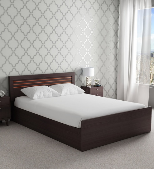 f5531c6c7b Buy Kuruma King Size Storage Bed In Wenge Finish by Mintwud Online - Modern  King Sized Beds - Beds - Furniture - Pepperfry Product