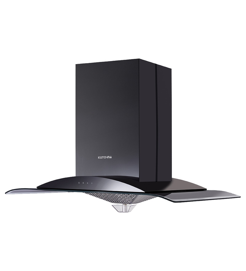 Kutchina Isle Auto Clean 90 Cm Chimney & Hood