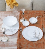 Diva Golden Fall Opal Ware 33-Piece Dinner Set