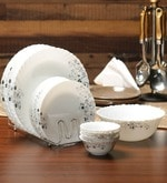 Diva Opalware Dinner Set of 19
