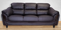 Lakewood Three Seater Sofa in Coffee Brown Colour