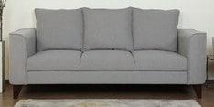 Lara Three Seater Sofa in Ash Grey Colour
