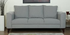 Lara Three Seater Sofa in Ash Grey Colour