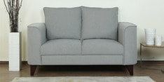 Lara Two Seater Sofa in Ash Grey Colour