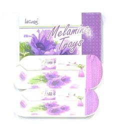 Lacuzini Melamine Serving Tray - Set Of 2