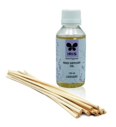 Lavender Oil Refill With Reeds