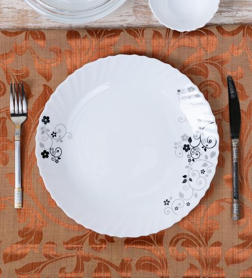 Buy La Opal Diva Mystrio Black Opal Ware Dinner Plate