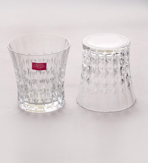 Cristal Darques Lady Diamond.Cristal D Arques Lady Diamond Glass 270 Ml Whisky Glasses Set Of 6