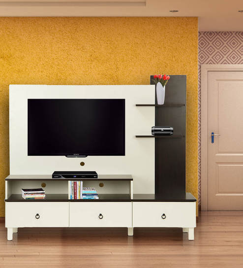 Buy Lauren Tv Unit By Hometown Online Modern Tv Units Tv Units