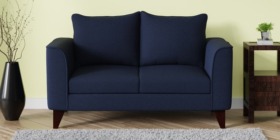 Swell Lara Two Seater Sofa In Navy Blue Colour By Casacraft Uwap Interior Chair Design Uwaporg