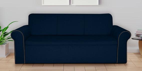 Strange Loribbo Three Seater Sofa Cum Bed With Storage In Blue Colour By Vittoria Uwap Interior Chair Design Uwaporg