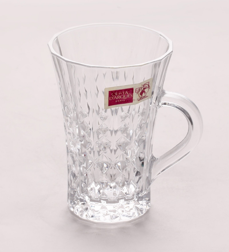 Cristal Darques Lady Diamond.Cristal D Arques Lady Diamond Glass 160 Ml Tea Cups