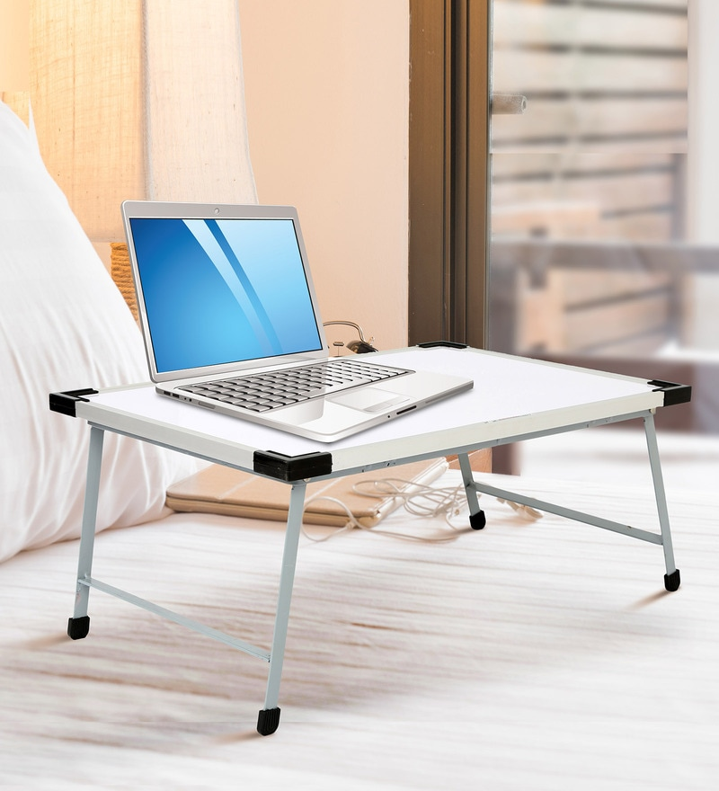 Buy Ivory Portable Laptop Table Cum Whiteboard With Free