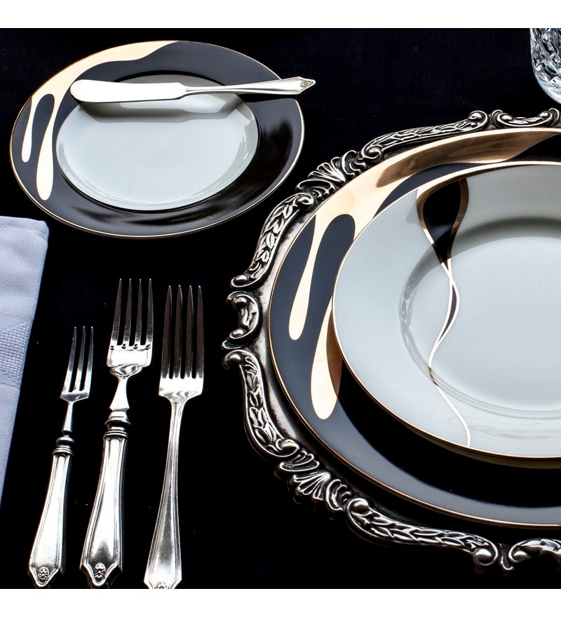 Black And Gold Tableware Table Designs & Black And Gold Tableware - Table Designs