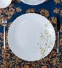 La Opal Diva Citron Weave Opal Ware Dinner Plate Set of 6