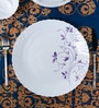 La Opal Diva Dazzle Purple Opal Ware Dinner Plate Set of 6