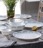Diva Lavender Dew Opal Ware Dinner Set - Set of 64 by La Opala