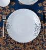 La Opal Diva Mysty Drop White Opal Ware Dinner Plate - Set of 6