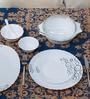 La Opala Diva Mysty Drop Opal Ware 35-piece Dinner Set