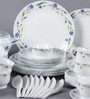Diva Spring Blossom Opal Ware Dinner Set - Set of 64 by La Opala