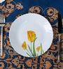 La Opala Diva Tulip Passion Opal Ware Quarter Plate - Set of 6