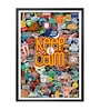 Lab No.4 - The Quotography Department Paper & PU Frame 13 x 1 x 17.5 Inch Keep Calm Motivational Framed Poster